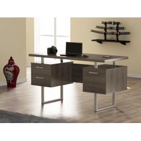 Компьютерный стол Loft-design L-81 1450х750х650 мм дсп дуб-палена