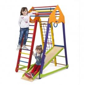Детский спортивный комплекс BambinoWood Color SportBaby