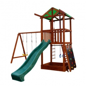 Деревянный игровой комплекс Sportbaby Babyland-4