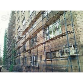 Строительные хомутовые леса 0,75х3,5х2,5 м