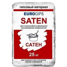 Гіпсова шпаклівка Eurogips Saten 25 кг