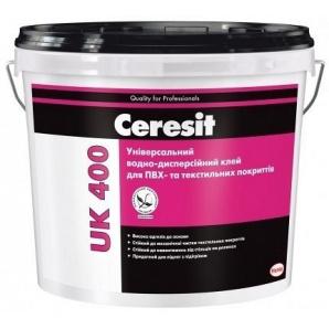 Клей для ПВХ Ceresit UK 400 універсальний для текстильних покриттів