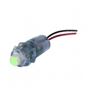 Світлодіод швидкого монтажу JL 12V 0,1 W IP65 Зелений