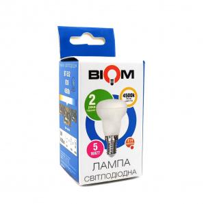 Світлодіодна лампа BIOM BT-552 R39 5W E14 4500K Рефлектор