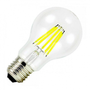 Филаментная лампа BIOM FL-312 8W E27 4500K А60 Груша