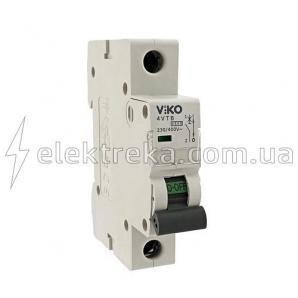 Автоматичний вимикач VIKO 1P 40A 4.5 кА 230/400В тип С