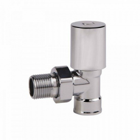 Кран радиаторный угловой с/р 1/2 хром SD FORTE SF234W15