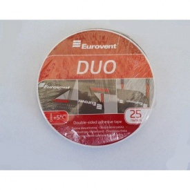 Двостороння клейка стрічка Eurovent DUO 20 мм 25 м