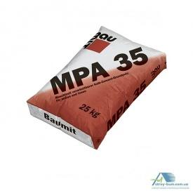 Машинна вапняно-цементна штукатурка BAUMIT МПА 35 25 кг