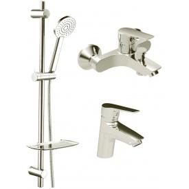 Набор смесителей для ванны KOLLER POOL Twin 3 в 1 TN0200+TN0100+TN010