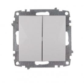 Механизм выключателя двойного ElectroHouse Enzo (EH-2122)