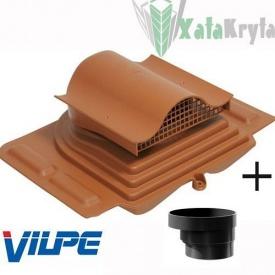 Кровельный вентиль VILPE PELTI - KTV с адаптером