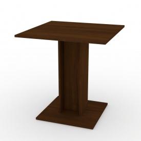 Кухонний стіл Компаніт КС-7 700х736х700 мм горіх