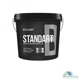 """Штукатурка силіконова """"баранець"""" зерно 1,5 мм Kolorit Standart B 25 кг база LАР"""