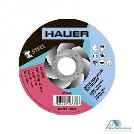 Диск Hauer отрезной по металлу 180х2,0х22 мм 17-264