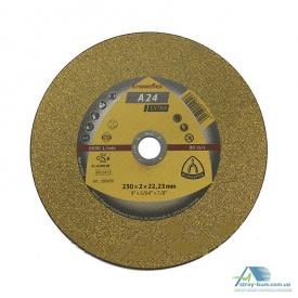 Диск отрезной по металлу Klingspor 230х2,0х22 мм 286456