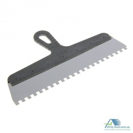 Шпатель с пластиковой ручкой 350 мм зуб 8х8 мм 05-432