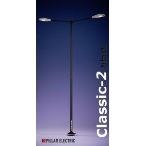Опора освещения Pillar Electric Классик-2 100 Вт