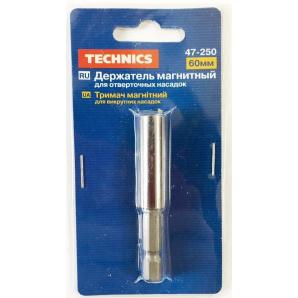 Держатель бит магнитный для насадок TECHNICS 60мм