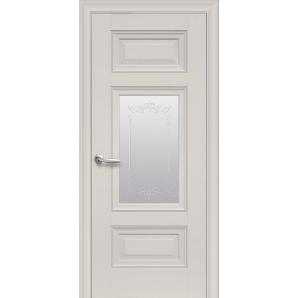 Дверное полотно Новый Стиль Элегант ШАРМ магнолия 800 мм стекло ПП Premium