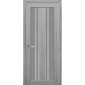 Дверное полотно Новый стиль Итальяно ВЕРОНА С2 жемчуг серебряный стекло графит 700 мм SmartCover