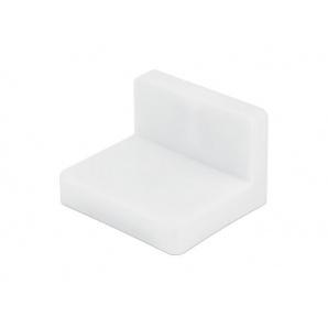 Уголок мебельный монтажный с пластиковой заглушкой GIFF белый