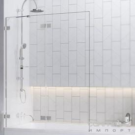 Шторка для ванни Radaway Euphoria PND 110 10008110-01-01L хром/прозоре скло лівостороння