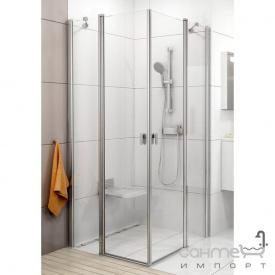 Душевая дверь Ravak Chrome CRV2-90 сатин/прозрачное 1QV70U00Z1