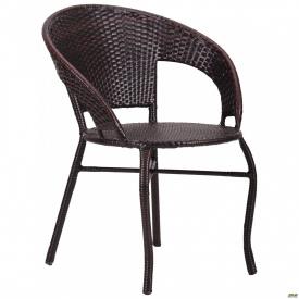 Кресло Catalina ротанг коричневый