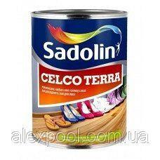 Лак для пола SADOLIN CELCO TERRA полуглянцевый 45 1 л