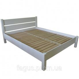 Кровать РЕЛІНГ бук белый 2000х1600 мм