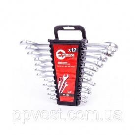 Набор ключей комбинированных Cr-V INTERTOOL HT-1203