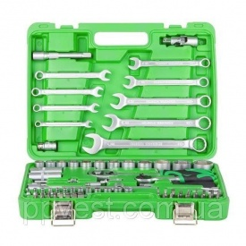 Набор инструментов 12 & 14 82ед Cr-V INTERTOOL ET-6082SP
