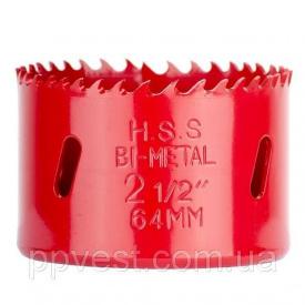 Коронка по металлу биметаллическая 64 мм INTERTOOL SD-5664