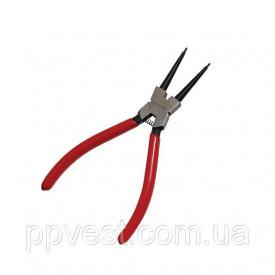 Щипцы для снятия стопорных колец прямые на сжим INTERTOOL HT-7011