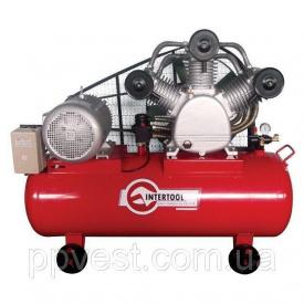 Компресор 300 л 15 кВт 380 В 8 атм 2000 л/хв 3 циліндра INTERTOOL PT-0052