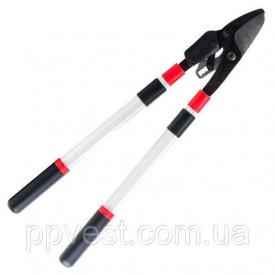 Сучкорез садовый для обрезки веток c храповым механизмом с телескопическими ручками 700-1030 мм INTERTOOL FT-1118