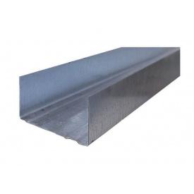 Профиль для гипсокартона UW 75/3 м 0,55мм