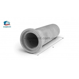 Залізобетонна розтрубна труба безнапірна ТС 80.25-3