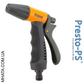 Пістолет поливальний регульований 3 режими пластиковий Presto PS 7208