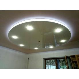 Многоуровневый натяжной потолок с подсветкой под заказ