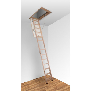 Чердачная лестница Altavilla Termo 3S Pino 110x90 h280см