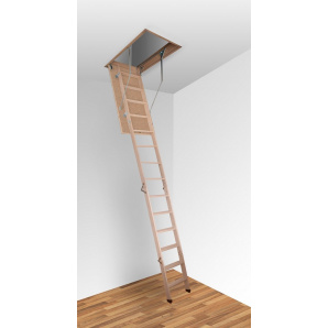 Чердачная лестница Altavilla Cold 3S Pino 130x90 h280см