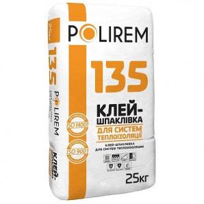 Клей для приклеивания и армирования ППС и МВ Polirem 135 25кг