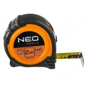 Рулетка Neo tools стальная лента 2мx16мм магнит (67-112)