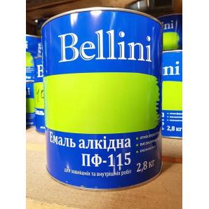 Эмаль ПФ-115 2,8 кг Жёлтая ТМ BELLINI