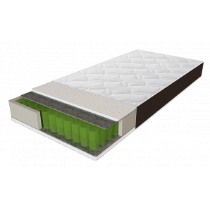 Матрас ALFA 80х190 Sleep&Fly Organic ЕММ