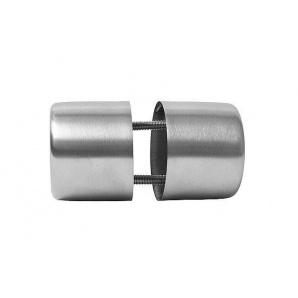 Дверная ручка накладная нержавеющая 18 мм комплект