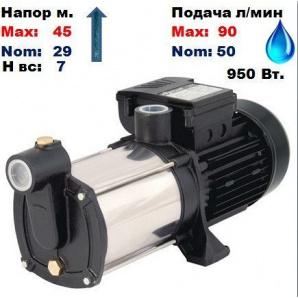 Насос відцентровий багатоступінчастий MRS-4 Sprut 45/29 м 50-90 л/хв 220 В 950 Вт