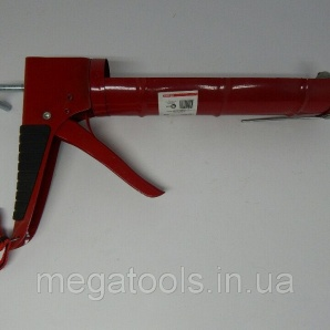 Пістолет для видавлювання силікону 225 мм Intertool